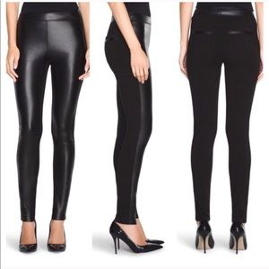 New White House Black Market Vegan Leather Legging